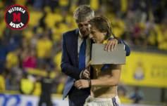 Seti�n dialoga con Modric tras el U.D.-Las Palmas