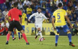 Isco en el partido ante Las Palmas