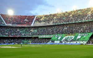 Aspecto del estadio durante un partido la temporada pasada