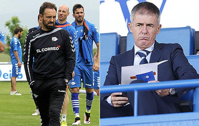 Bordalás y Alcaraz, los entrenadores que están en la mira del...