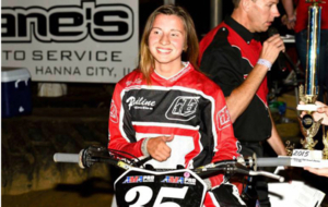 Charlotte Kainz compet�a en campeonato norteamericano de 'flat...