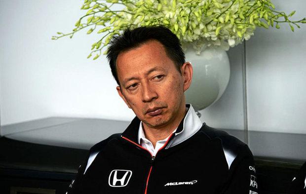 El director de Honda F1, Yusuke Hasegawa, en el pasado GP de Canad�.