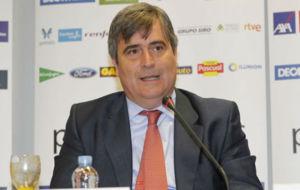 Miguel Cardenal, en una comparecencia ante los medios.