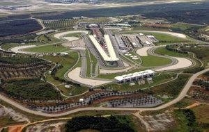 El Circuito Internacional de Sepang, sede del GP de Malasia