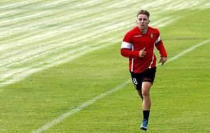 Brandon Thomas, realiza carrera continua durante un entrenamiento