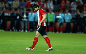 Be�at durante un partido de Europa League
