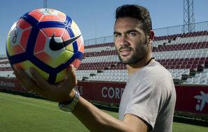 Vicente Iborra posa para una entrevista con MARCA.