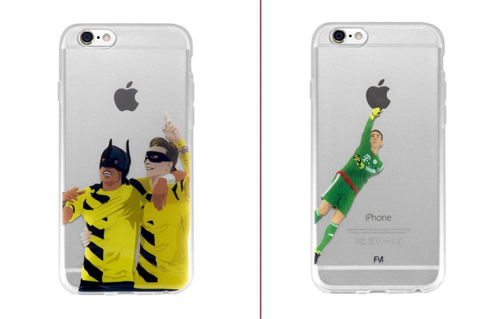 carcasas futbol iphone
