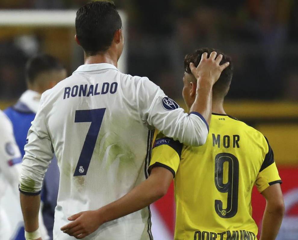 Marca: Emre Mor Inspired By Cristiano Ronaldo Match-up