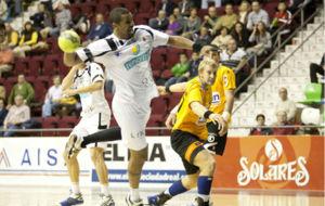 Dinart, en su �poca de jugar del BM Ciudad Real.