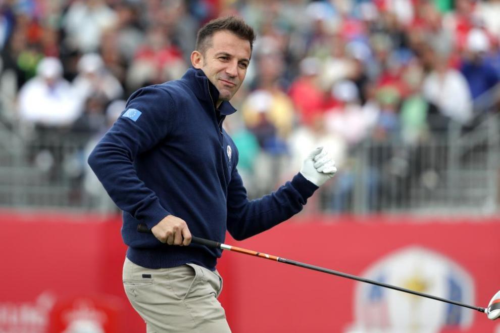 El exfutbolista Alessandro Del Piero formó parte del equipo europeo...