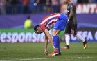 God�n se duele del tobillo tras acabar el choque ante el Bayern
