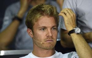 Rosberg en la rueda de prensa oficial de Malasia
