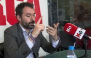 �lex Aranzabal, durante una visita a la redacci�n de MARCA