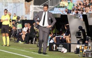 Andrea Stramaccioni, entrenador del Panathinaikos, este jueves en...