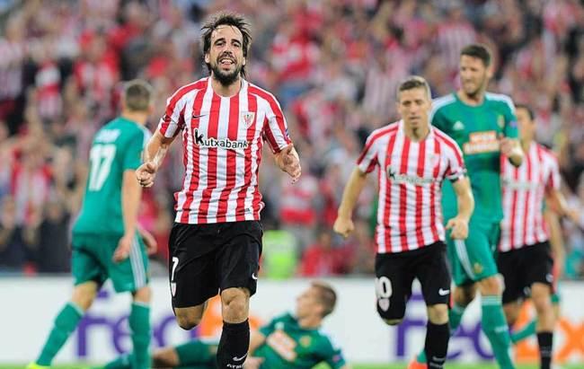 Victorias de Athletic y Celta en casa y empate del Villarreal en Bucarest