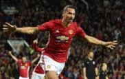 Ibra celebra su gol ante el Zorya