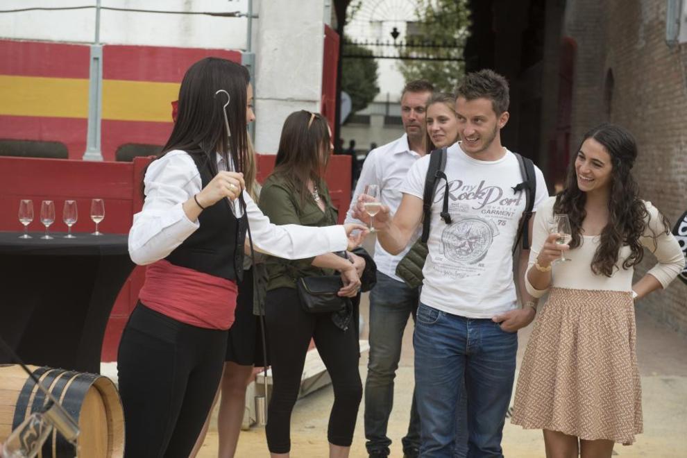 La delegación olímpica alemana, de fiesta en Granada.