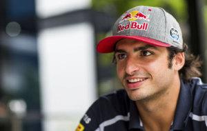 Carlos Sainz, en el circuito de Sepang