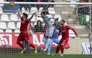 Zaragoza y C�rdoba, el pasado febrero en Liga.
