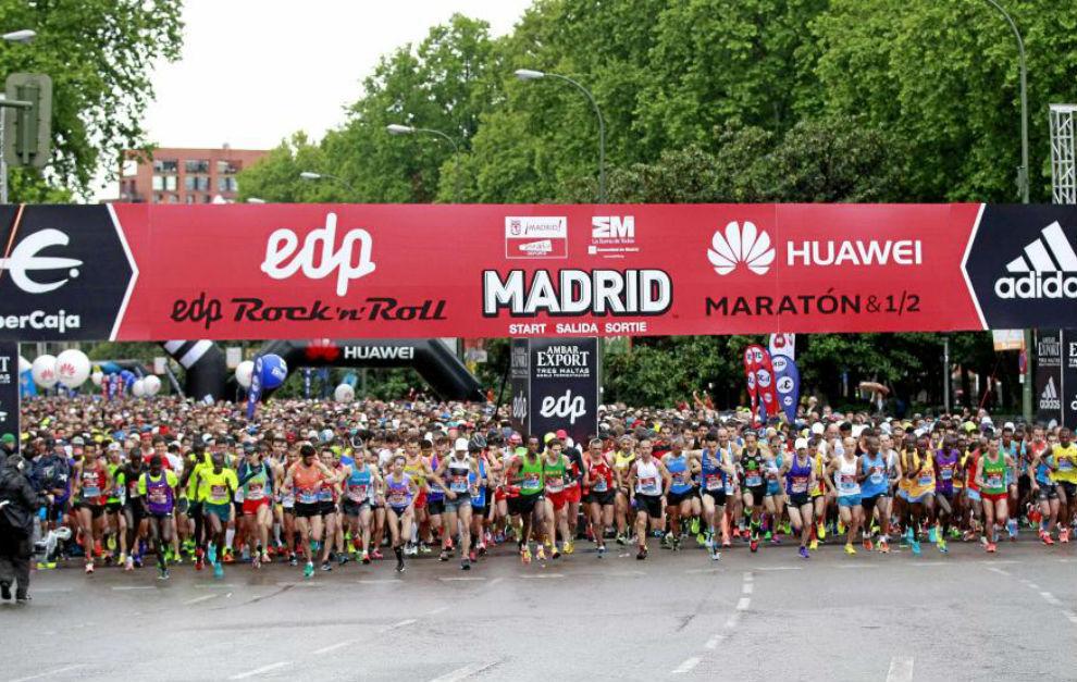 El maratón de Madrid recibe el Golden Label de la IAAF