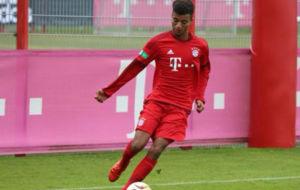 Tillman en un partido con el Bayern de M�nich