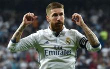Ramos celebra su gol al Villarreal