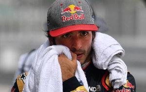 Carlos Sainz, tras acabar la calificación