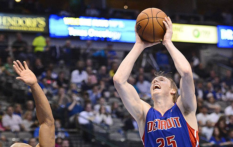 Singler en su etapa en los Pistons