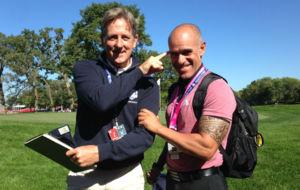 Chris Henry y Emilio Pereira, entrenador mental y preparador físico...