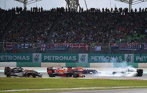 Rosberg, del revés sobre la pista