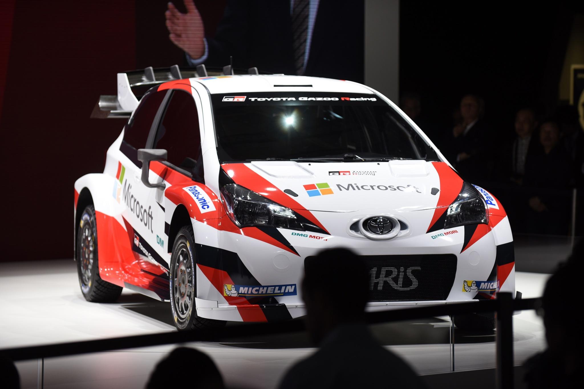 Los coches de competición, estrellas del Salón de París