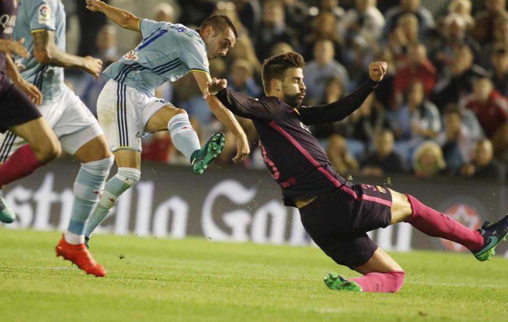 El Celta provocó el peor partido Fantasy del Barça
