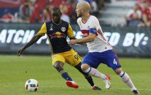 Bradley, en un partido con el Toronto.