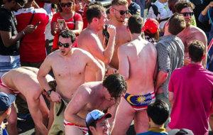 Los aficionados australianos, en Sepang