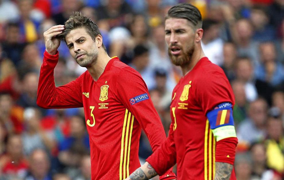 """პიკე:""""ესპანეთის ნაკრებს არასდროს ჩავიბარებ, რადგან რამოსი აღარ ითამაშებს"""""""