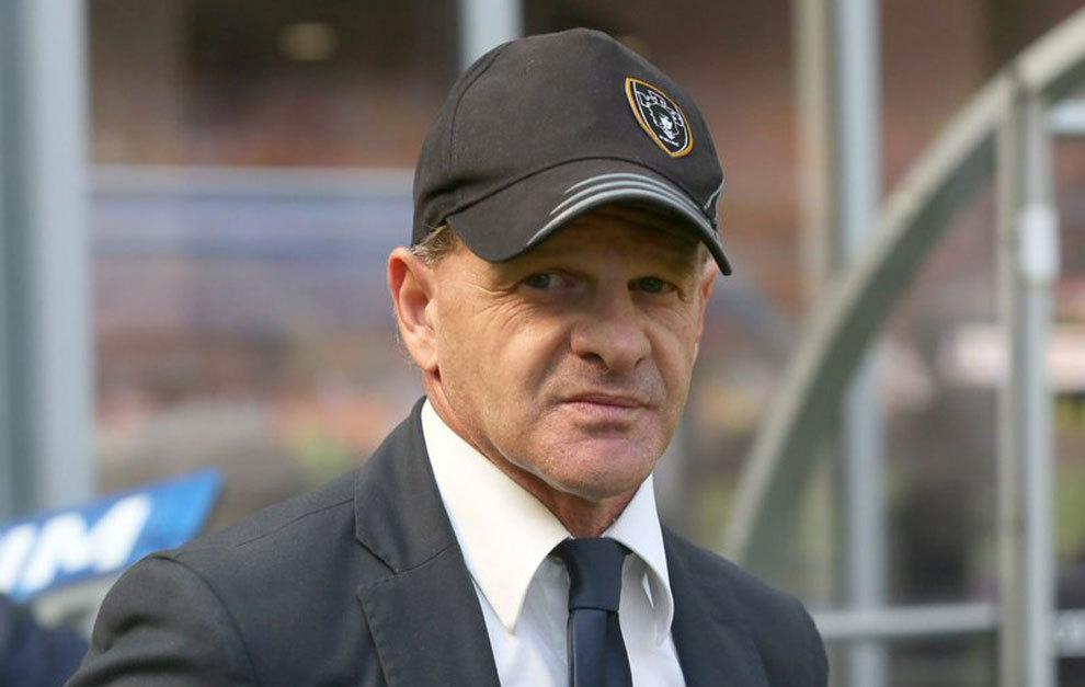 Giuseppe Iachini, en un partido del Udinese.