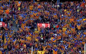 Imagen de la final de la Copa del Rey en el Vicente Calderón.