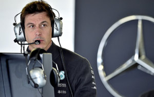 Toto Wolff, jefe del equipo de Mercedes
