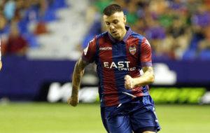 Abraham Minero en un partido de esta temporada contra el Zaragoza.