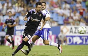 Alex P�rez, en el partido de Copa del Rey frente al Zaragoza de la...