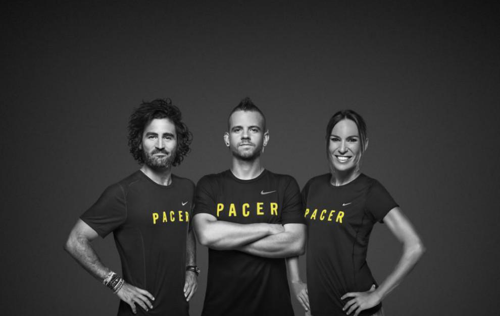 Raúl Gómez, Dabiz Muñoz y Paula Butragueño, 'pacers' del Nike +Run...