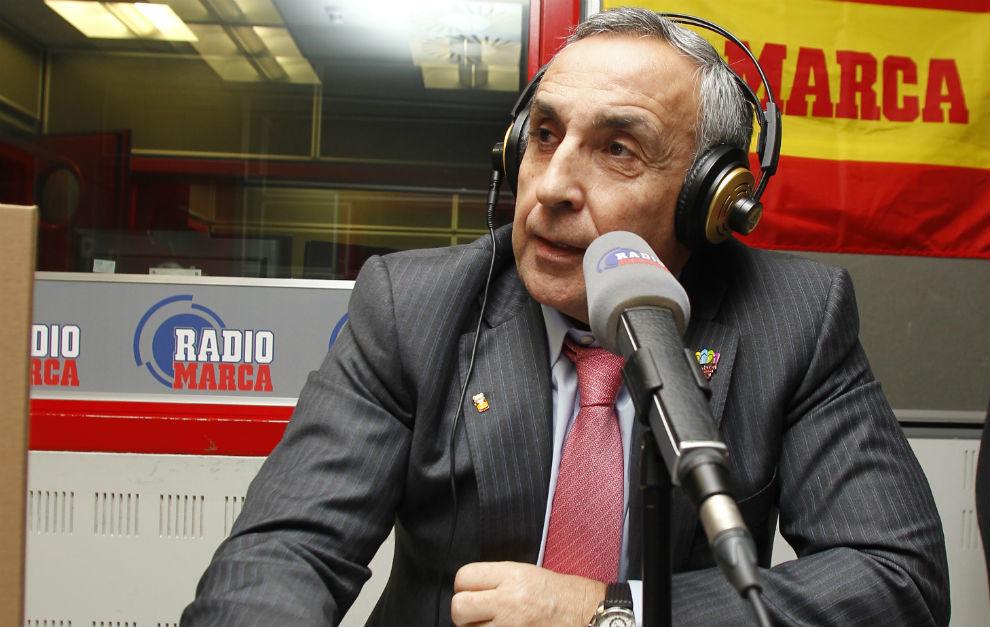 Alejandro Blanco, en una entrevista en Radio MARCA.