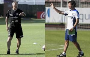 Paco Herrera y Luis Milla necesitan el triunfo de Valladolid y...