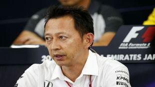 Hasegawa, uno de los máximos responsables de Honda