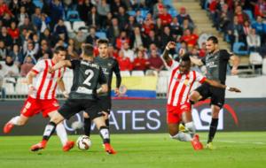 Enfrentamiento entre Almería y Levante de la temporada 2014-15.