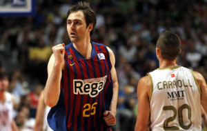 Lorbek en la final de la ACB 2011-2012 contra el Real Madrid