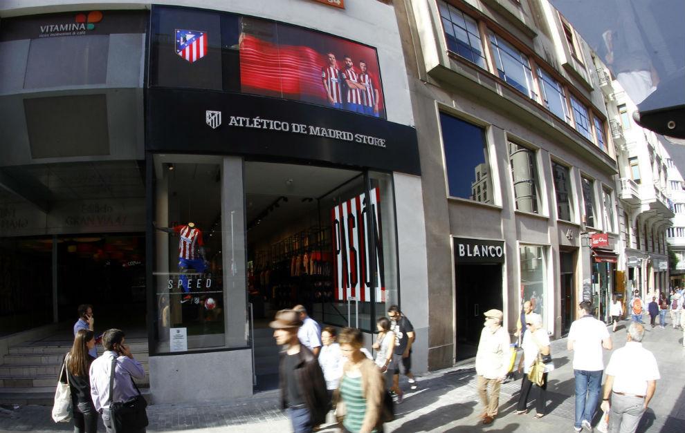 atlético madrid store