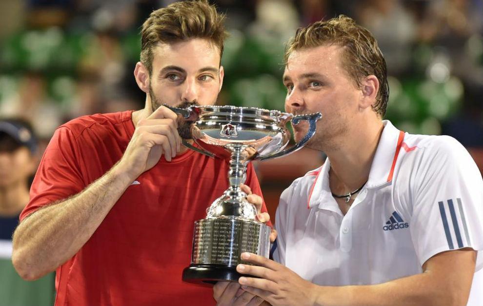 Granollers besa el trofeo al lado de Matkowski