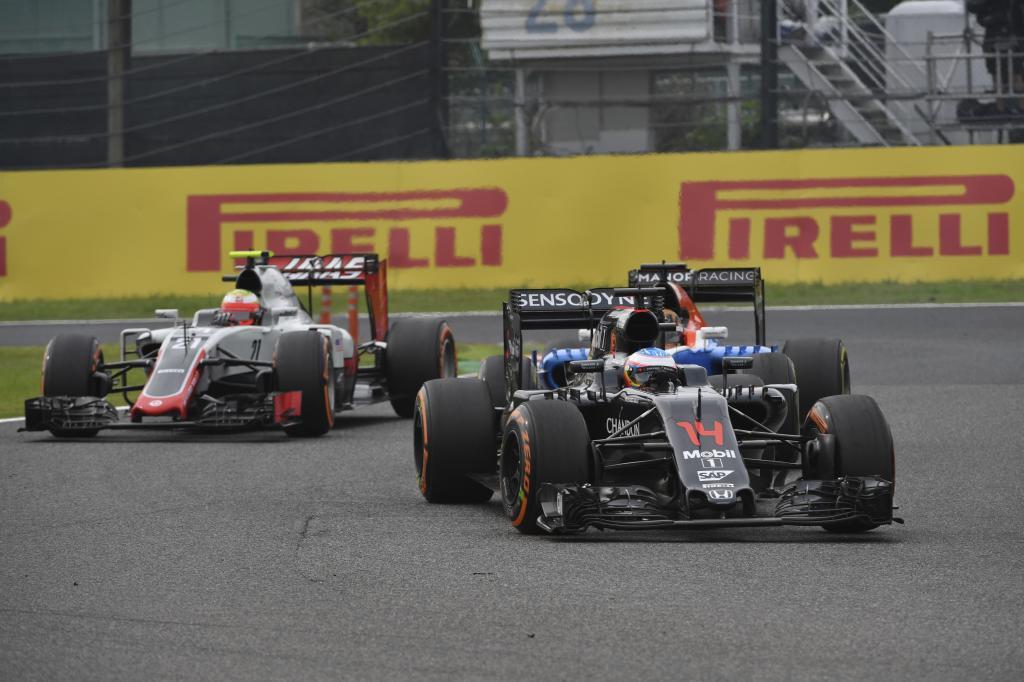 Fernando Alonso nunca pudo disputar los puntos